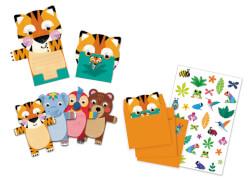 Geburtstag: Wild animals invitation cards