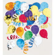 Konfetti Partyballons mehrfarbig 14 g