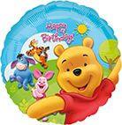 Standard Puuh & Freunde Sunny Birthday Folienballon S60 verpackt