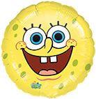 Standard SpongeBob Lächelnd Folienballon S60 verpackt