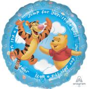 Standard HX Pooh It's a Boy Folienballon, S60, verpackt, 45 cm