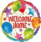 Standard Welcome Home Celebration Folienballon S40 verpackt
