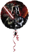 Standard Star Wars Folienballon S60 verpackt 43 cm