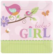 8 Teller Tweet Baby Pink 17,7 cm