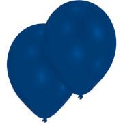 50 Latexballons Standard royalblau 25,4 cm/10''