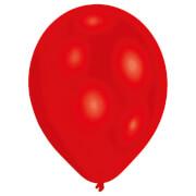 50 Latexballons Standard rot 27,5 cm/11''