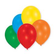 50 Latexballons Standard sortiert 27,5 cm/11''
