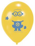 6 Latexballons Minions 22,8 cm/9''