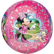 Orbz Minnie Maus Folienballon G40 verpackt 43 x 45 cm