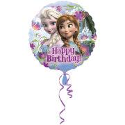 Standard Frozen Happy Birthday Folienballon S60 verpackt 43 cm