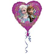 Standard Frozen Herz Folienballon S60 verpackt 43 cm