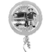 Standard Feuerwehrmann Sam Happy Birthday Folienballon S60 verpackt 43 cm
