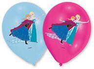 6 Latexballons Frozen 4-farbig 27,5 cm/11''