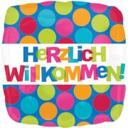 Amscan Folienbalon S60 ''Herzlich willkommen''