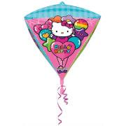 Diamondz Hello Kitty Folienballon G40 verpackt 38 x 43 cm