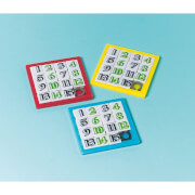 12 Schiebepuzzles