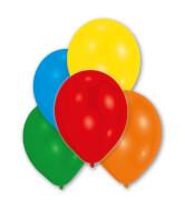 10 Latexballons metallic sortiert 27,5 cm/11''