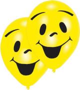 8 Latexballons Sunny Smile 2-seitig 25,4 cm / 10''