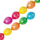 6 Latexballons Girlandenballons Happy Birthday