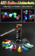LED Ballon-Lichterkette 5 Meter lang mit 10 Ballons