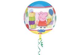 Orbz Peppa Pig Folienballon Clear G40 verpackt 38x40cm
