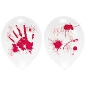 4 Ballons Ballominate Halloween blutig 27,5 cm/11''