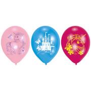 6 Latexballons Einhorn 22,8cm/9