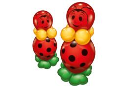 Ballon-Set Glückskäfer für 2, 20-teilig
