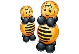 Ballon-Set Bienchen für 2, 20-teilig