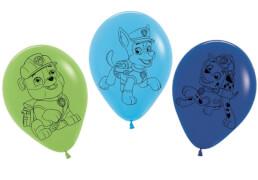 Luftballons Paw Patrol blau und grün s