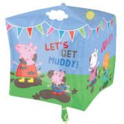 Cubez Peppa Pig & Friends Folienballon, G40, verpackt, 38 x 38 cm
