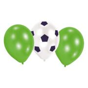 6 Latexballons Kicker Party 22,8 cm/9