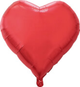 Folienballon Herzform