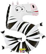 Zahl 5 Zebra 102 cm / Number 5 Zebera 40''