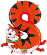 Zahl 8 Katze 102 cm / Number 8 Cat 40''