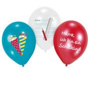6 Latexballons My School Start 28cm/11