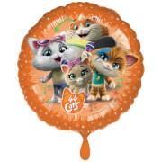 Standard 44 Cats Folienballon S60 rund verpackt