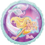 Standard Mermaid Barbie Folienballon S60 verpackt