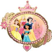 SuperShape Disney Princess Once Upon A Time Folienballon P38 verpackt 86 cm x 81 cm