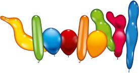 Ballons 30 Stück Bunte Mischung
