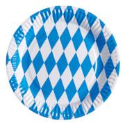 8 Teller Bayern 23 cm