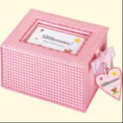 Die Spiegelburg - Baby-Schatzkästchen Willkommen! rosa