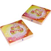 Amscan 20 Servietten ''Happy Birthday'', ca. 33x33 cm