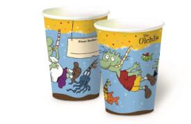 Olchi Pappbecher (8 Ex.)