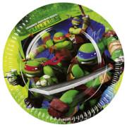 8 Teller Teenage Mutant Ninja Turtles 23 cm