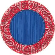 8 Teller Bandana & Blue Jeans 26,7 cm