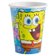 8 Becher SpongeBob 266 ml