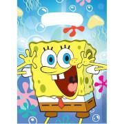 6 Partytüten SpongeBob