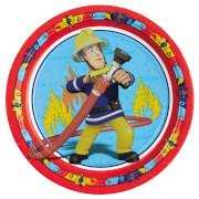 8 Teller Fireman Sam 23 cm