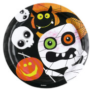 8 Teller Halloween Kids 23 cm